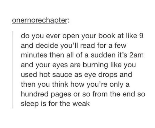 So incredibly relevant to my life hahahaha