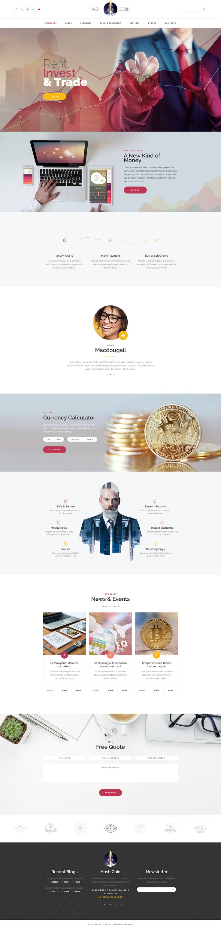 HashCoin - Bitcoin PSD template #account #accounting #bitcoin • Download ➝ https://themeforest.net/item/hashcoin-bitcoin-psd-template/20894043?ref=pxcr