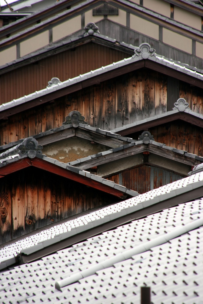 Roofs, Gion, Kyoto