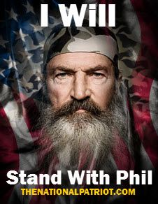 Phil Robertson #standupforwhatyoubelievein<<< YESSSSSSSSSSSSS!!!!!!!!!!!!!Repost your support!! << We're with you Phil!!<<A&E are idiots if they don't get Phil back on.