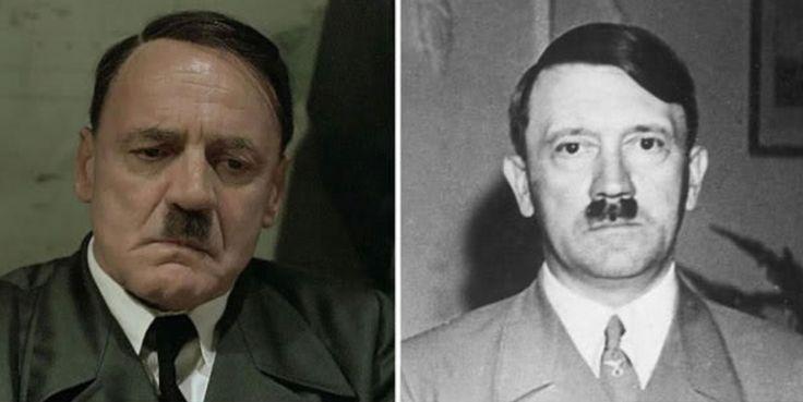 Bruno Ganz as Adolf Hitler (Downfall, 2004)