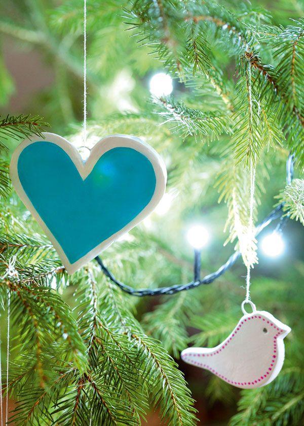výroba vianočných ozdôb (tepelne tvrdnúca zmes)