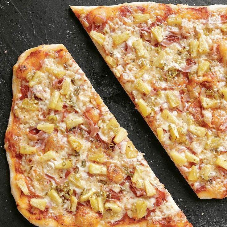 Pizza Hawaïenne revisitée - Pizzas maison irrésistibles