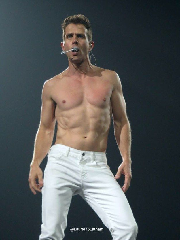Joey McIntyre, of the legendary 80s boy band New Kids on the Block, is turning 43 on December 31st. To help you celebrate, here are 43 sexy pictures of Joey. Who knows, you might just become a Joey...