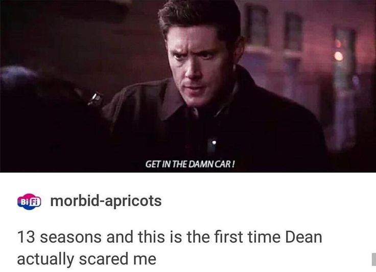 This part actually made me mad. I didn't think that Dean would EVER do this, and it's the first time I've ever thought the SPN writers messed up.