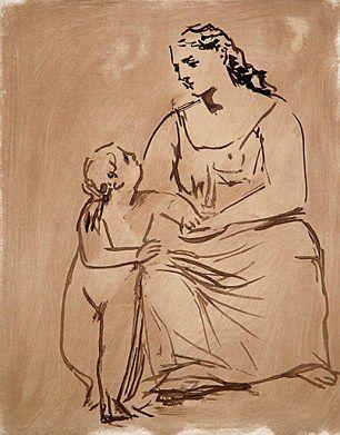 Pablo Picasso - Motherhood, 1921