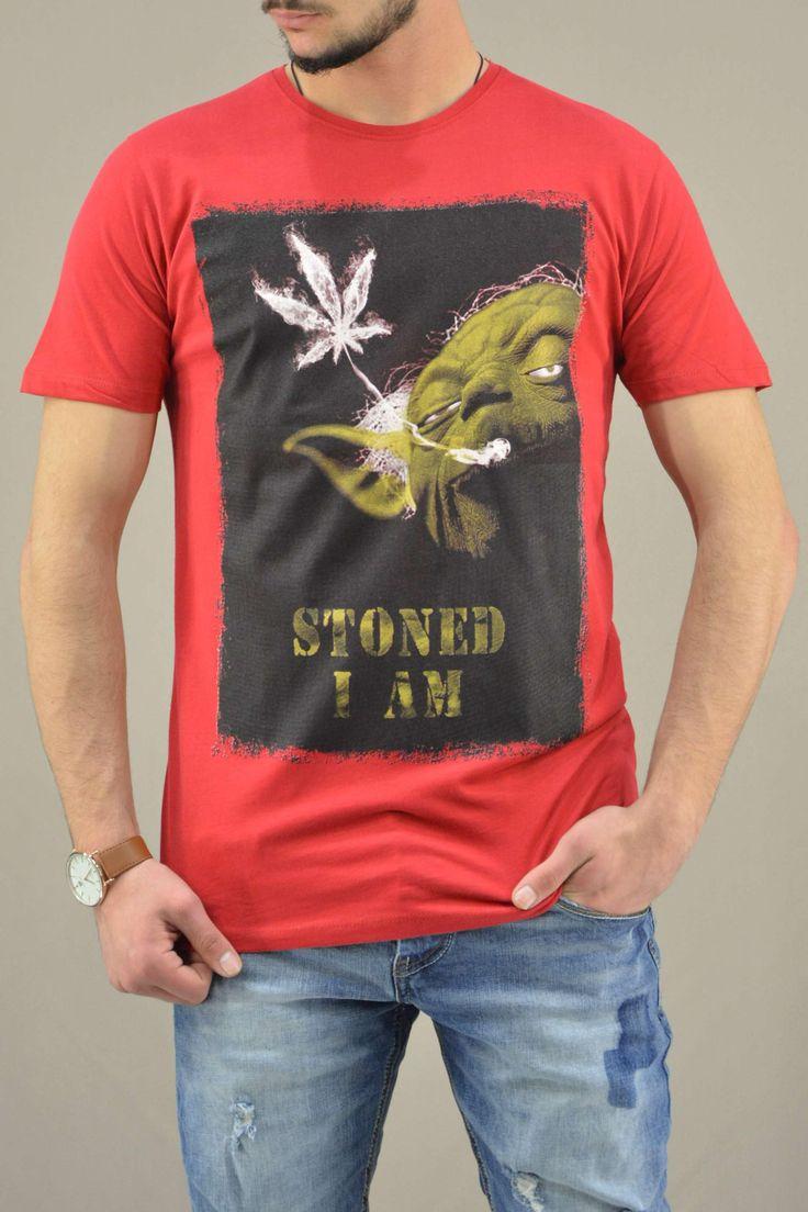 Ανδρικό t-shirts Star Wars Yoda Stoned | Άνδρας -
