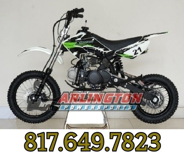 Rps Xmoto 125cc Dirt Bike Automatic With Electric And Kick Start
