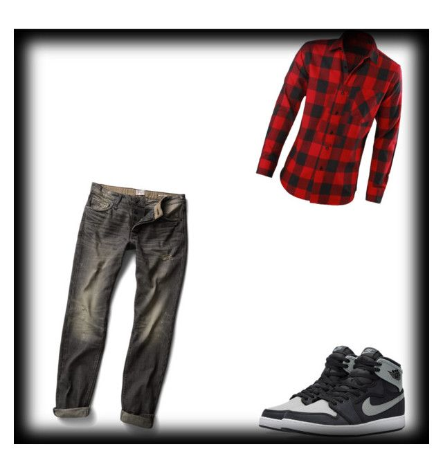 """""""Look Men"""" by paloma13005 ❤ liked on Polyvore featuring MANGO, NIKE, men's fashion and menswear"""