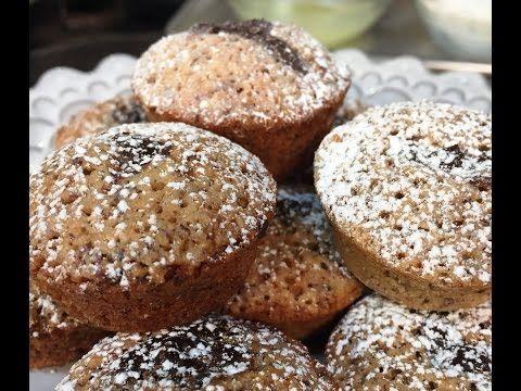 Gluten-Free Hazelnut Financiers with Dark Chocolate Ganache - YouTube ...