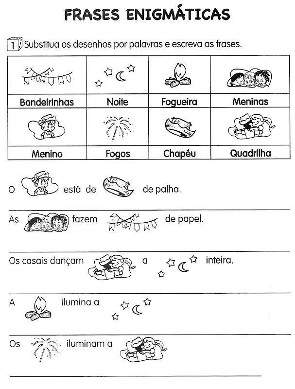 A MAGIA DA LITERATURA INFANTIL: Atividades Festa junina