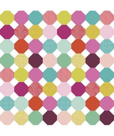 Papier Peint G Ometrique Multicolore Fille Couleurs Enfants Pinterest Papier Peint
