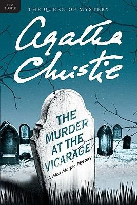 The Murder at the Vicarage, by Agatha Christie. Call number: PR6005.H66 S4 1976. Miss Marple--Agatha Christie's immortal spinster sleuth with the razor-sharp mind and an intuitive understanding of criminal behavior--encounters a compelling murder mystery in the sleepy little village of St. Mary Mead, where under the seemingly peaceful exterior of an English country village lurks intrigue, guilt, deception and death.