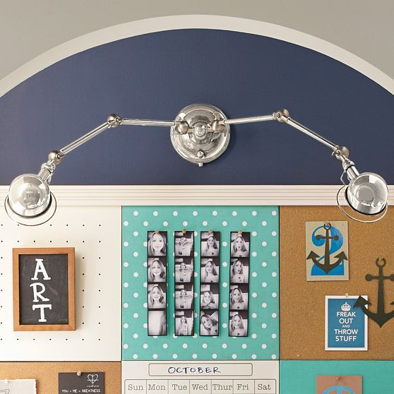 Hi-Light Dual Wall Sconce | PBteen
