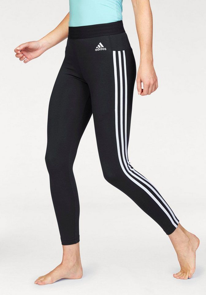 adidas Performance Leggings »ESSENTIALS 3 STRIPES TIGHT