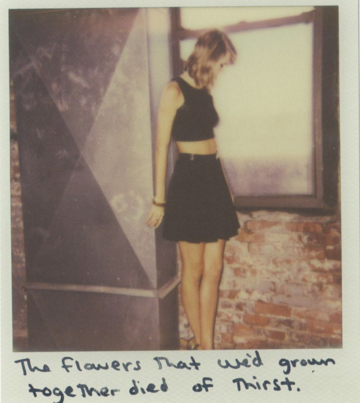 Taylor Swift Polaroid 52 - Clean #1989