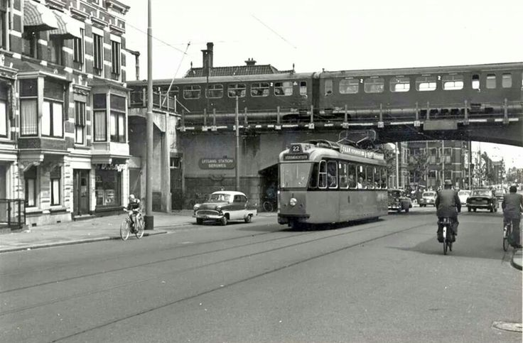 Rotterdam - Station Bergweg. 1968