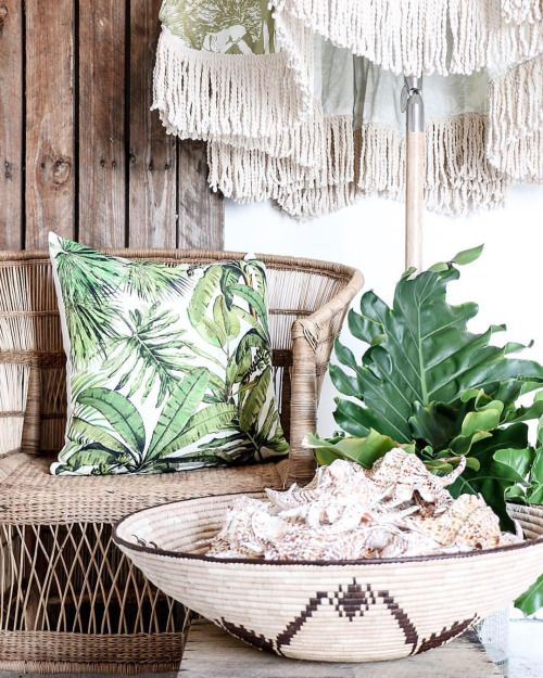Village - Bahama Tribe  Weekend mode at the ready! Nothing but earthy tropic vibes to inspire you with our earth textures & jungle greens!  Featured: Jungle Leaves Cushion, African Malawi Chair, Jungle Fringed Umbrella & accessories.  Explore our products online & in stores today.  Showrooms: Bundall & Burleigh Online: www.villagestores.com.au (at Village Stores)