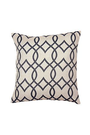 """Our polylinen jacquard subtle all-over geometric design adds a tonal texture to this scatter cushion, ideal to add a classic style to any living space. Measures 50x50cm.<div class=""""pdpDescContent""""><BR /><b class=""""pdpDesc"""">Dimensions:</b><BR />L50xW50 cm<BR /><BR /><b class=""""pdpDesc"""">Fabric Content:</b><BR />65% Polyester 26% Rayon 9% Linen<BR /><BR /><b class=""""pdpDesc"""">Wash Care:</b><BR>Gentle machine wash flat dry do not tumble dry</div>"""