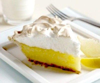 Traditional Lemon Meringue Pie (Argo Cornstarch Box Recipe)