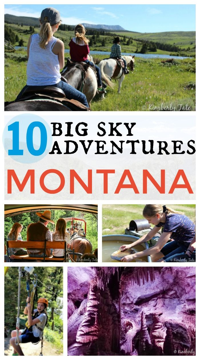 Plan your next family vacation to Montana! Check out these amazing 10 Big Sky Adventures for Families Traveling to Big Sky Country