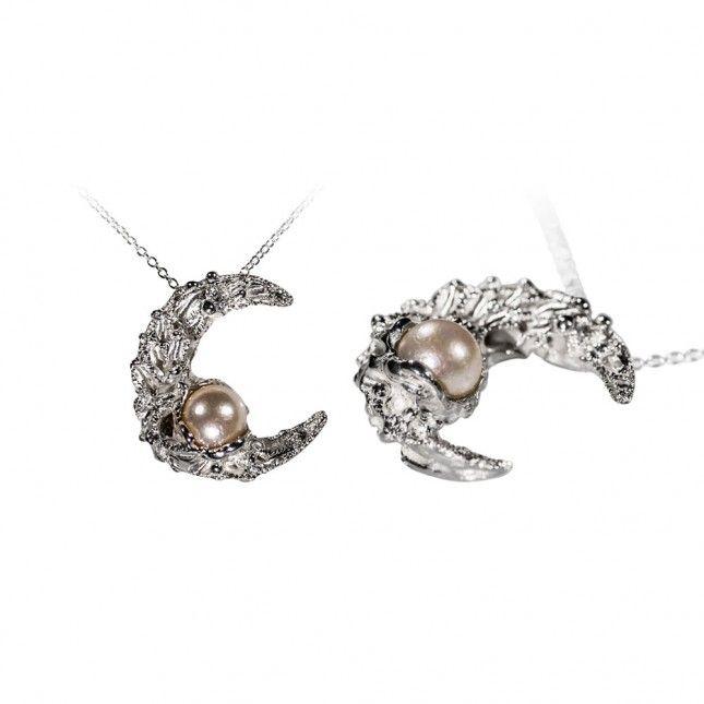 LUNA NASCENTE silver pendant