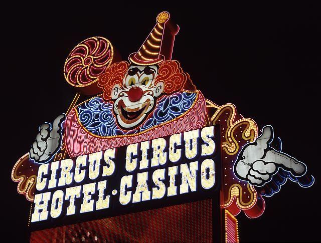 'Circus Circus Hotel and Casino' Neon sign: Las Vegas, Nevada
