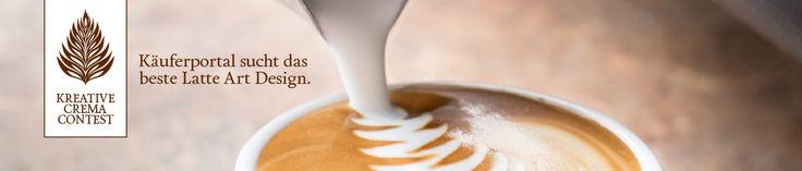 Wir suchen #Baristi, die an unserem Creative-Crema-Contest teilnehmen wollen. #LatteArt #Kaffee