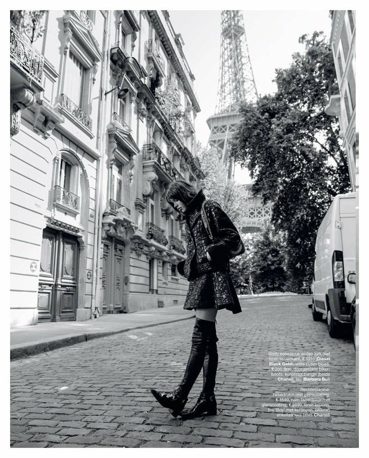 Eva Doll Poses in Paris for Marie Claire Netherlands by Dennison Bertram