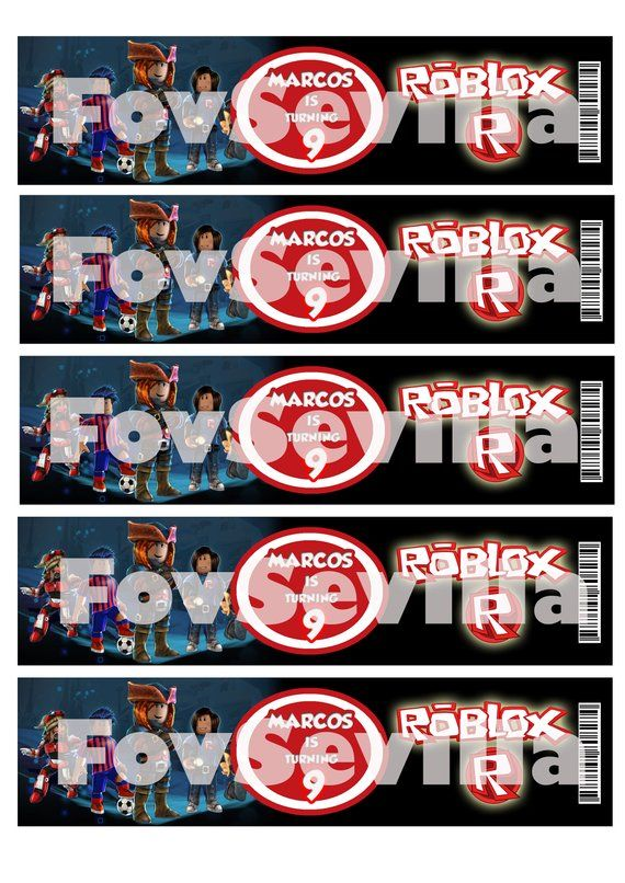 Roblox Packages Download - Tags Water Bottles Robloxroblox Party Tagsroblox Party