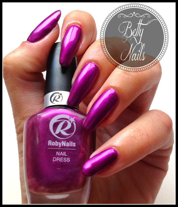 Betty Nails: Roby Nails Arabic Violet
