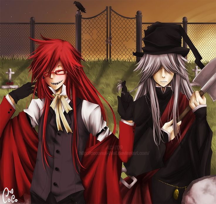 Grell Sutcliff x Undertaker | Grell and Undertaker | Pinterest