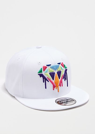 Dripping 3D Jewel Snapback | rue21- that should be mine!