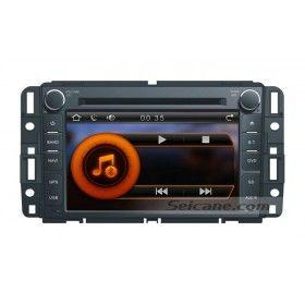 7 pouces 2007 2008 2009 2010 2011 GMC Acadia Savanna Sierra Yukon Multimédia HD Ecran tactile Radio système de navigation Bluetooth DVD TV Tuner AUX Contrôle Volant