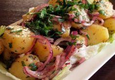 Lekker Turks eten: Aardappel Salade, Patates Salatasi