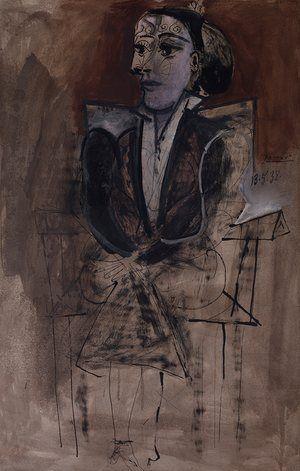 Пикасо Дора Маар Сеатед (1938)