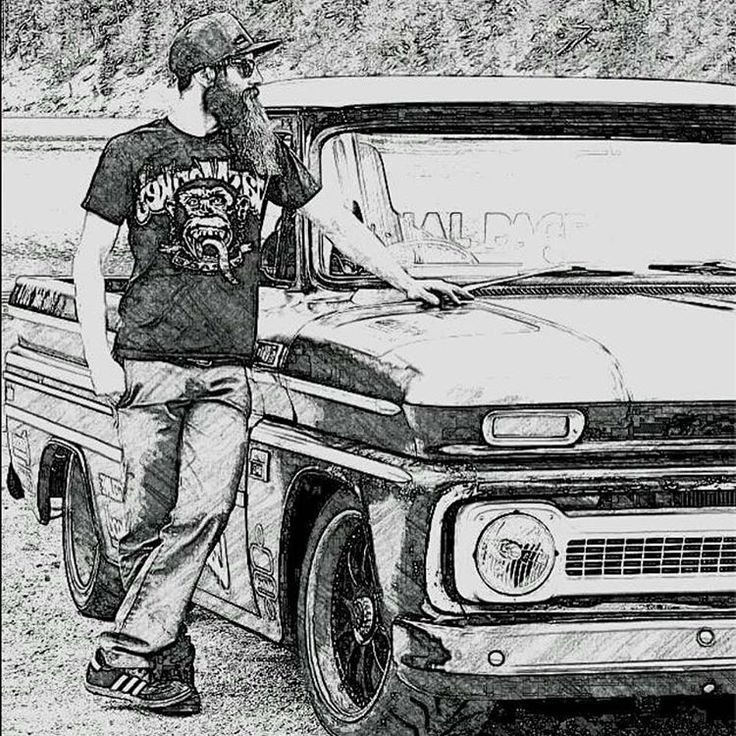 Aaron Kaufman drawing  #gasmonkeys