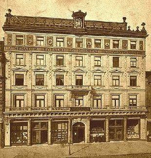 Kondor Vilmos | Budapest noir | Athenaeum és az Est épületei | #book #crime #budapest