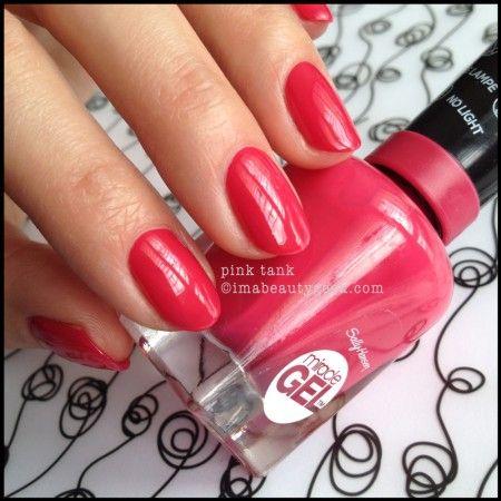 Sally Hansen Miracle Gel Pink Tank 2014. Launching August 2014 - more info on clickthru to Beautygeeks!