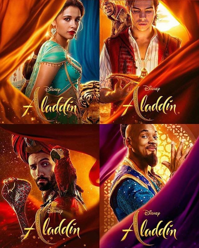 Aladdin Character Posters 🧞♂️Thank You For The Pics @the
