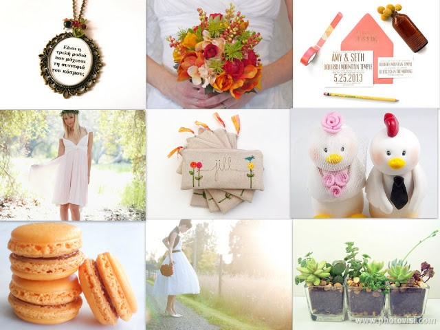 Etsy Love - Spring Wedding