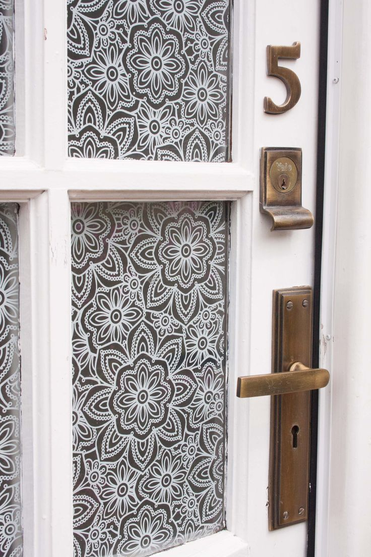 17 best images about entry doors on pinterest etched for Film pour fenetre