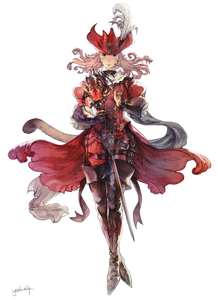 Red Mage from Final Fantasy XIV: Stormblood