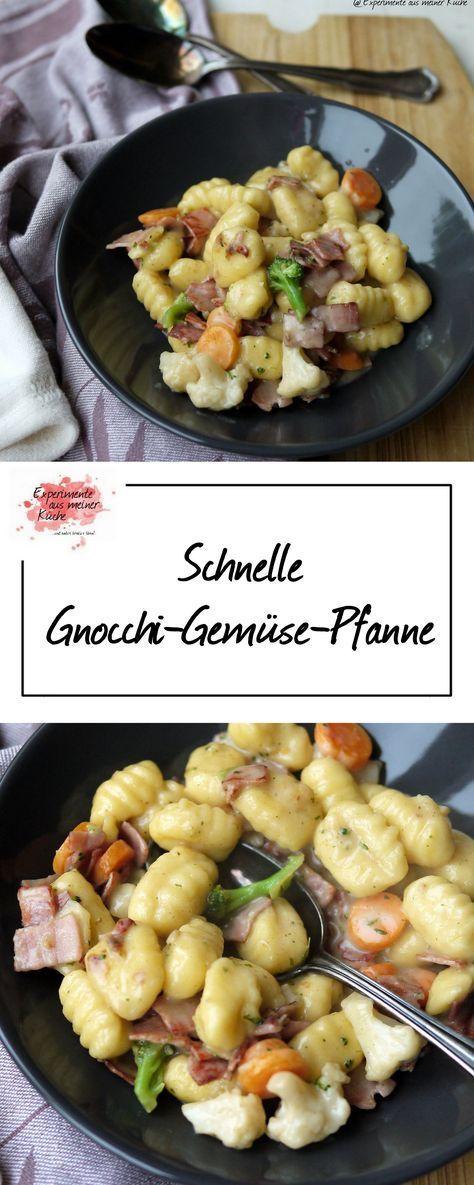 Schnell Gnocchi-Gemüse-Pfanne | Rezept | Kochen