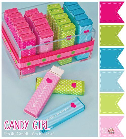 Candy Girl Color Palette - Inspire Sweetness http://inspiresweetness.blogspot.com/