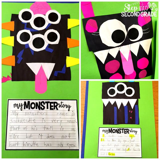 I Need My Monster: make a monster and write about it