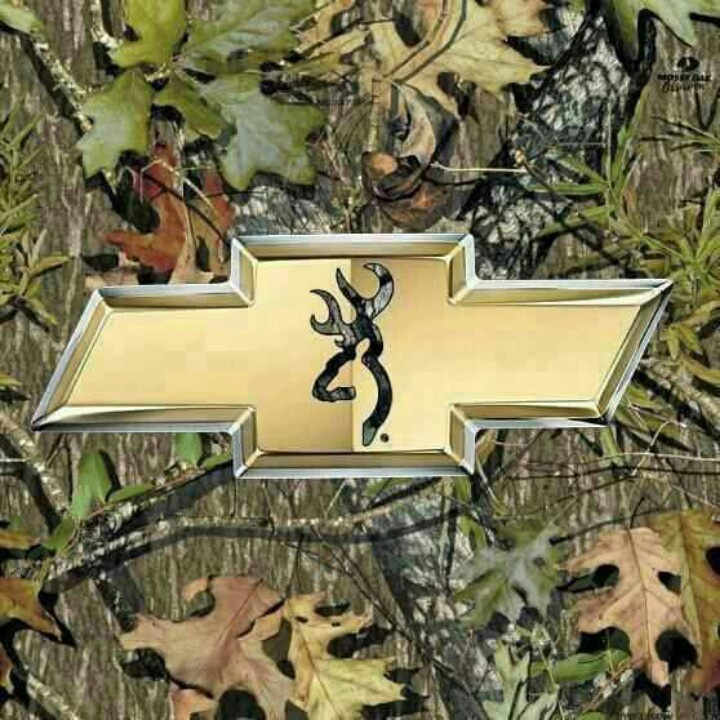 chevy bow tie browning and mossy oak camo huntin