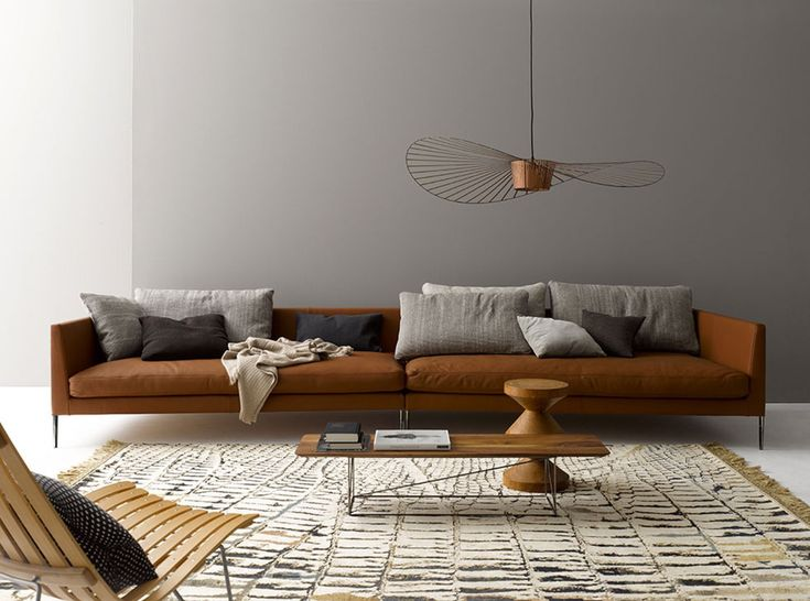 Sofas By COR. Pilotis. Design By METRICA. Pilotis Allow You To Lean Back
