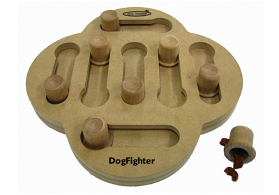 Dog Fighter puzzle for smart dogs from Nina Ottosson Games