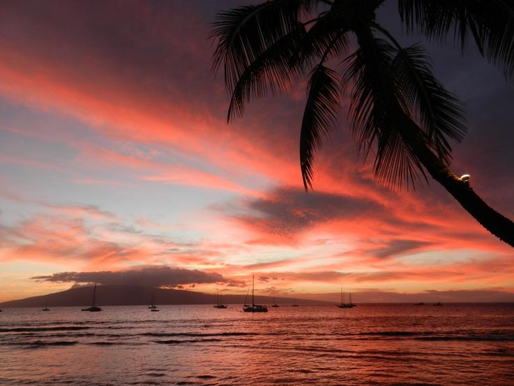 Maui and Me - Lahaina at Dawn